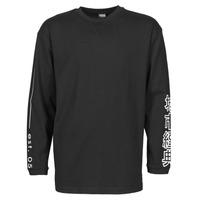Υφασμάτινα Άνδρας Μπλουζάκια με μακριά μανίκια Urban Classics TB4140 Black