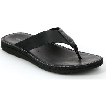 Παπούτσια Άνδρας Σαγιονάρες Grunland CI1153 Μαύρος