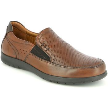 Παπούτσια Άνδρας Μοκασσίνια Grunland SC4449 καφέ