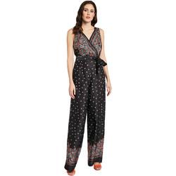 Υφασμάτινα Γυναίκα Ολόσωμες φόρμες / σαλοπέτες Gaudi 011FD25027 Μαύρος