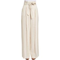 Υφασμάτινα Γυναίκα Παντελόνες / σαλβάρια Gaudi 011FD25029 Μπεζ