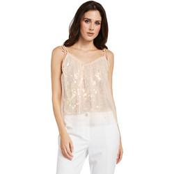 Υφασμάτινα Γυναίκα Μπλούζες Gaudi 011FD45036 Ροζ