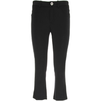 Υφασμάτινα Γυναίκα Κοντά παντελόνια NeroGiardini P960610D Μαύρος