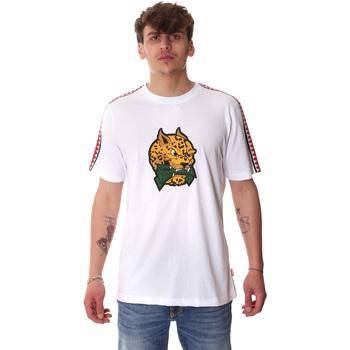 Υφασμάτινα Άνδρας T-shirt με κοντά μανίκια Sprayground 20SP032WHT λευκό