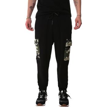 Υφασμάτινα Άνδρας παντελόνι παραλλαγής Sprayground 20SP017 Μαύρος