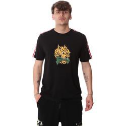 Υφασμάτινα Άνδρας T-shirt με κοντά μανίκια Sprayground 20SP032BLK Μαύρος