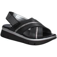 Παπούτσια Γυναίκα Σανδάλια / Πέδιλα The Flexx D2016_22 Μαύρος
