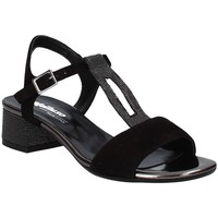 Παπούτσια Γυναίκα Σανδάλια / Πέδιλα Melluso K35106 Μαύρος