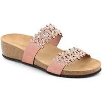 Παπούτσια Γυναίκα Τσόκαρα Grunland CB2478 Ροζ