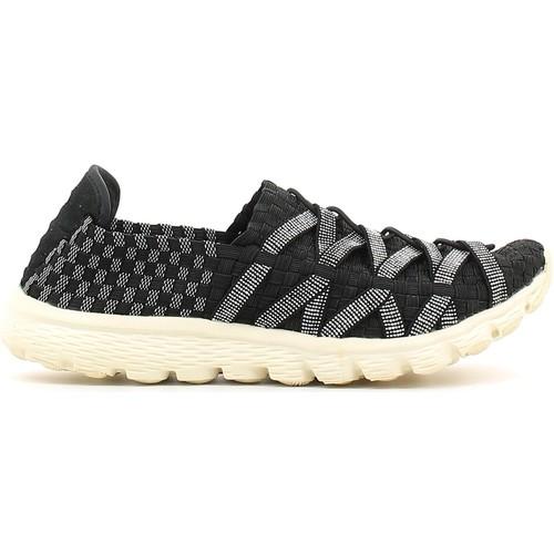Παπούτσια Γυναίκα Slip on Rock Spring 870008 Μαύρος
