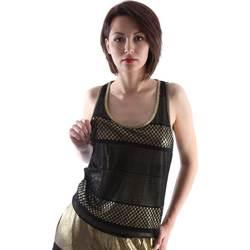 Υφασμάτινα Γυναίκα Αμάνικα / T-shirts χωρίς μανίκια Ttp.it HT2013D Μαύρος