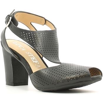 Παπούτσια Γυναίκα Σανδάλια / Πέδιλα Luca Stefani 230104 Μαύρος