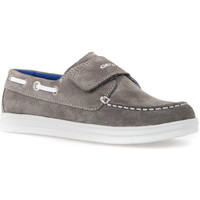 Παπούτσια Παιδί Μοκασσίνια Geox J723HF 022BC Γκρί
