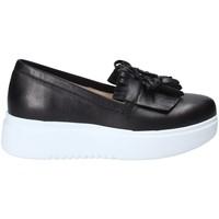 Παπούτσια Γυναίκα Slip on Exton E01 Μαύρος