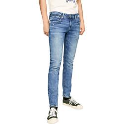 Υφασμάτινα Άνδρας Skinny Τζιν  Pepe jeans PM200823WF92 Μπλε