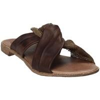 Παπούτσια Γυναίκα Τσόκαρα 18+ 6113 καφέ