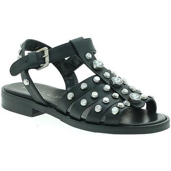 Παπούτσια Γυναίκα Σανδάλια / Πέδιλα Mally 6134 Μαύρος