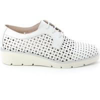 Παπούτσια Γυναίκα Derby Grunland SC4494 λευκό