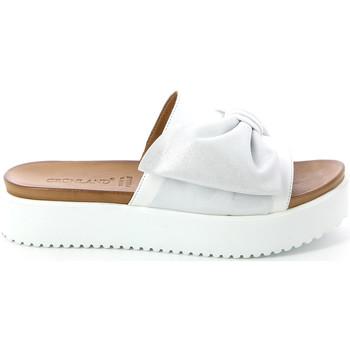 Παπούτσια Γυναίκα Τσόκαρα Grunland CI1519 λευκό