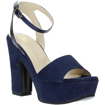 Παπούτσια Γυναίκα Σανδάλια / Πέδιλα Grace Shoes TQ 106 Μπλε