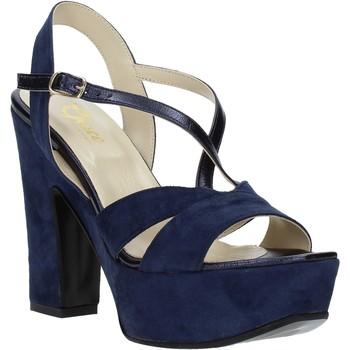 Παπούτσια Γυναίκα Σανδάλια / Πέδιλα Grace Shoes TQ 126 Μπλε