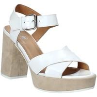 Παπούτσια Γυναίκα Σανδάλια / Πέδιλα Janet Sport 43883 λευκό