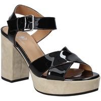 Παπούτσια Γυναίκα Σανδάλια / Πέδιλα Janet Sport 43883 Μαύρος