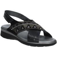 Παπούτσια Γυναίκα Σανδάλια / Πέδιλα Soffice Sogno E9490 Μαύρος