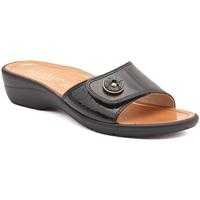 Παπούτσια Γυναίκα Τσόκαρα Susimoda 1651-01 Μαύρος