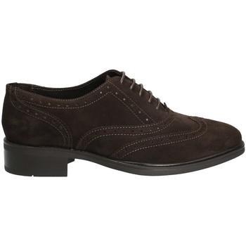Παπούτσια Γυναίκα Derby Marco Ferretti 140424 καφέ