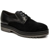 Παπούτσια Γυναίκα Derby Nero Giardini A806560D Μαύρος