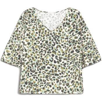 Υφασμάτινα Γυναίκα T-shirt με κοντά μανίκια NeroGiardini E062770D Πράσινος
