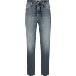 Υφασμάτινα Γυναίκα Τζιν σε ίσια γραμμή Calvin Klein Jeans J20J213332 Γκρί