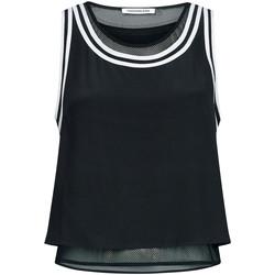 Υφασμάτινα Γυναίκα Μπλούζες Calvin Klein Jeans J20J213621 Μαύρος
