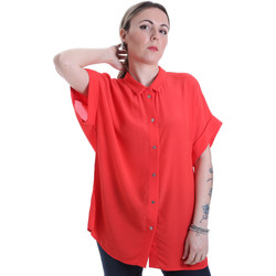 Υφασμάτινα Γυναίκα Πουκάμισα Calvin Klein Jeans K20K201950 το κόκκινο