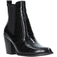 Παπούτσια Γυναίκα Μποτίνια Steve Madden SMSPATRICIA-BLKCRO Μαύρος