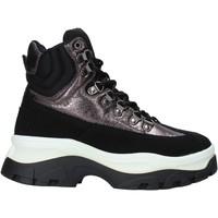 Παπούτσια Γυναίκα Ψηλά Sneakers Gold&gold B19 GS36 Μαύρος