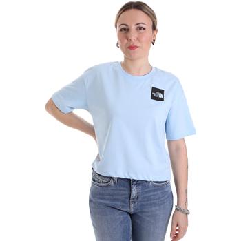 Υφασμάτινα Γυναίκα T-shirt με κοντά μανίκια The North Face NF0A4SY9JH51 Μπλε