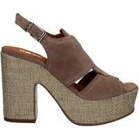 Παπούτσια Γυναίκα Σανδάλια / Πέδιλα Keys 5263 Μπεζ