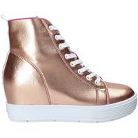 Παπούτσια Γυναίκα Ψηλά Sneakers Fornarina PE17MJ9543I091 Ροζ