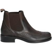 Παπούτσια Γυναίκα Μπότες Mally 4591 καφέ