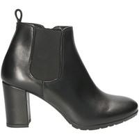 Παπούτσια Γυναίκα Μποτίνια Mally 5500S Μαύρος