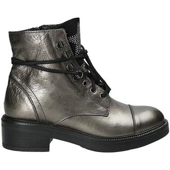 Παπούτσια Γυναίκα Μποτίνια Mally 6019 Ασήμι
