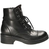 Παπούτσια Γυναίκα Μπότες Mally 6019 Μαύρος