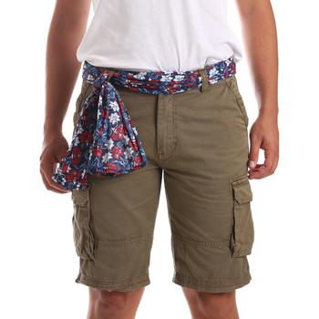 Υφασμάτινα Άνδρας Μαγιώ / shorts για την παραλία Gaudi 911BU25034 Πράσινος
