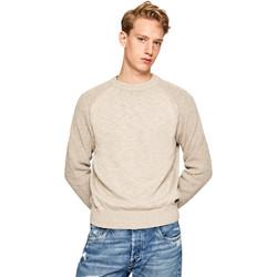 Υφασμάτινα Άνδρας Πουλόβερ Pepe jeans PM701989 Μπεζ