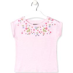 Υφασμάτινα Παιδί T-shirt με κοντά μανίκια Losan 016-1003AL Ροζ