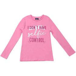 Υφασμάτινα Παιδί Μπλουζάκια με μακριά μανίκια Chicco 09006871000000 Ροζ