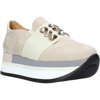 Παπούτσια Γυναίκα Slip on Grace Shoes 331004 Μπεζ