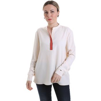Υφασμάτινα Γυναίκα Μπλούζες Calvin Klein Jeans K20K201722 Μπεζ